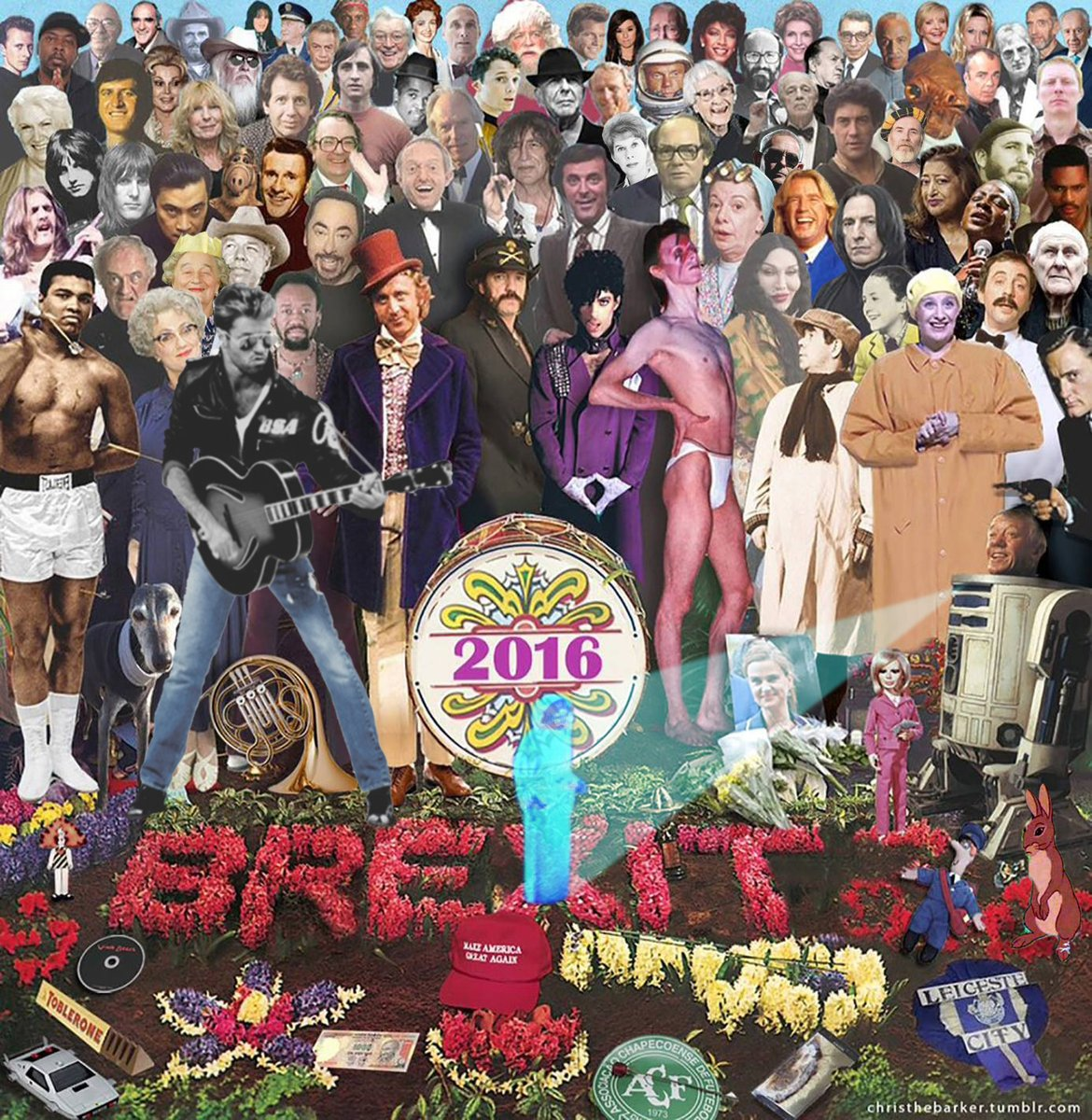 2016 – A year in review and tears graphic